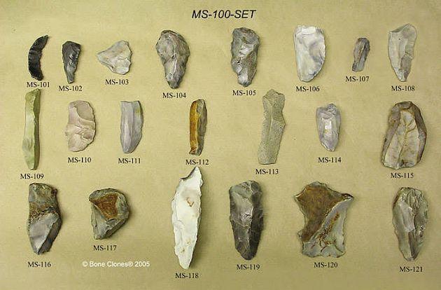Орудия труда неандертальцев