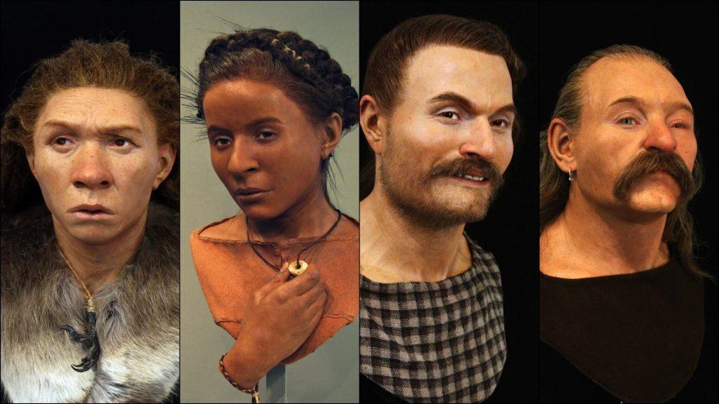 Как выглядели древние европейцы