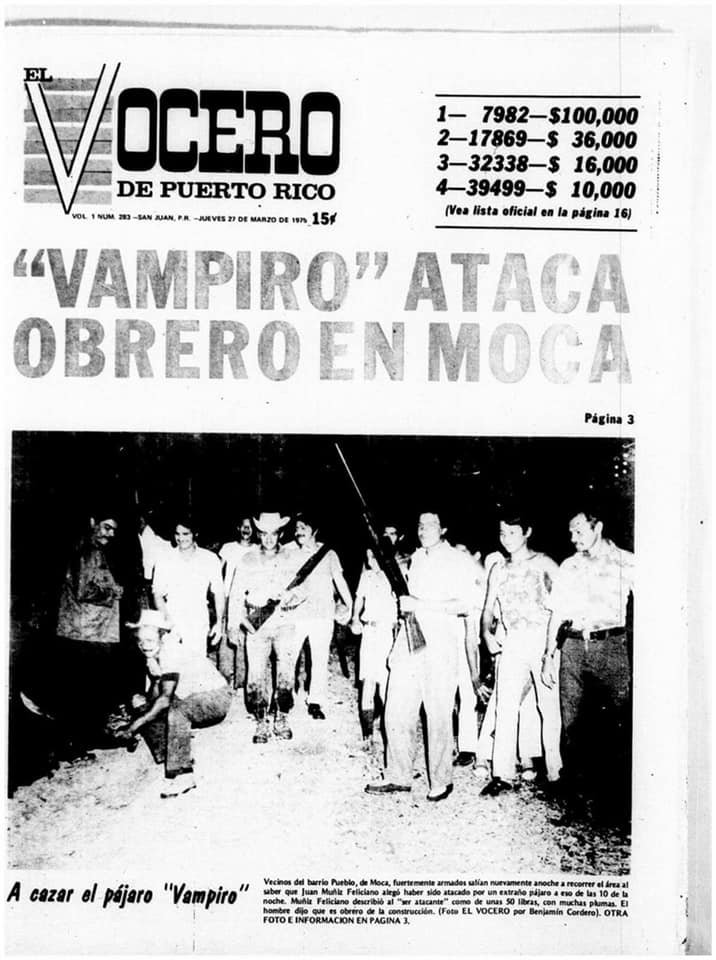 Обложка El Vocero