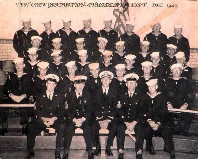 Команда эсминца Элдридж