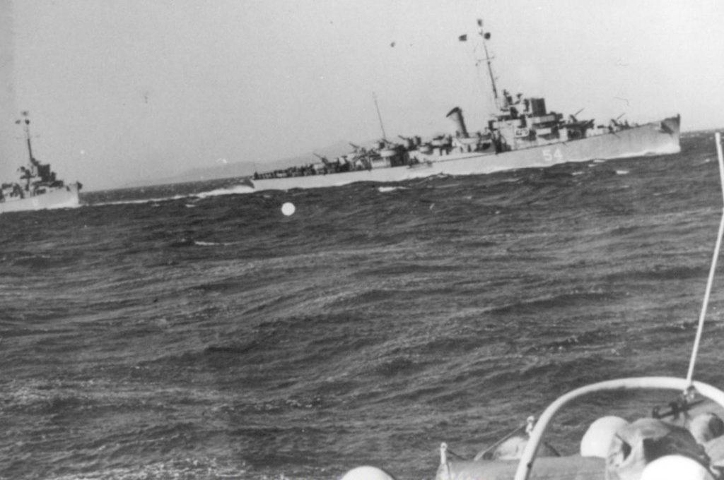 Эсминец Элдридж, Филадельфийский эксперимент, реальное фото